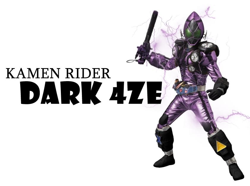 Kamen Rider Dark 4ze by tuanenam on DeviantArt