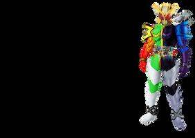 Kamen Rider W Mega-Extreme by tuanenam