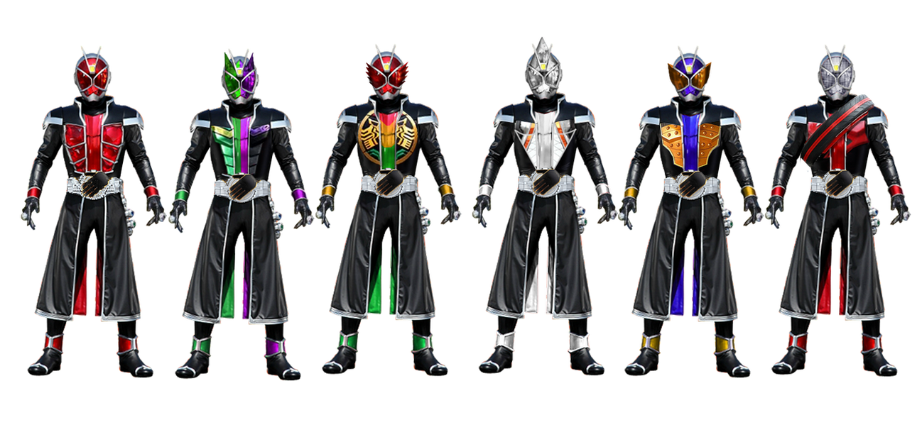 Kamen Rider Wizard Neo-Heisei Rings By Tuanenam On DeviantArt