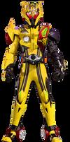 Kamen Rider Gold Drive type GOLDridoron by tuanenam
