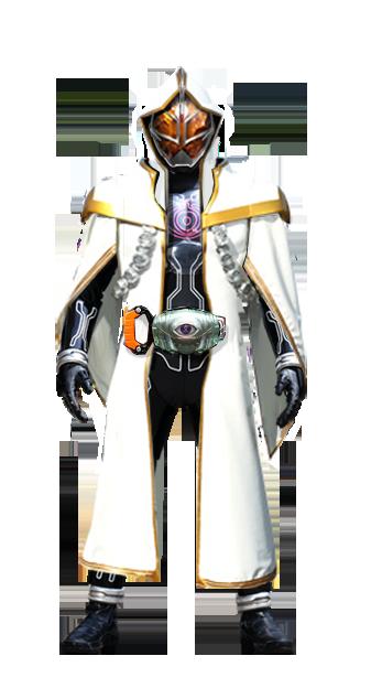 Kamen Rider D-Ghost White Wizard Damashii by tuanenam on ...