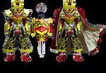 Kamen Rider Baron - (Kachidoki Version)