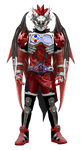 Kamen Rider Graphite - Dragon Knight lvl 99