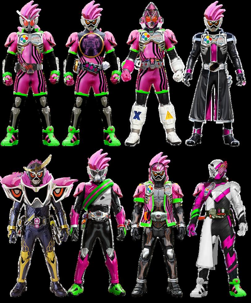 Kamen Rider Heisei II: Ex-aid Form by tuanenam