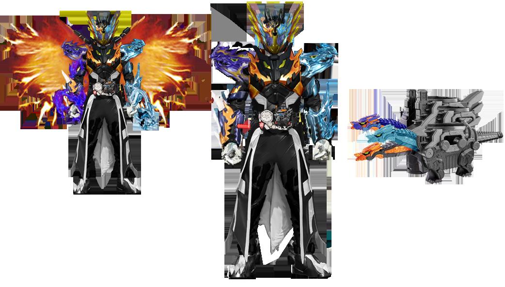 Kamen Rider Cross-Z_Celestial Dragon by tuanenam