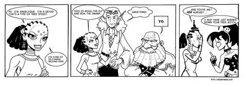 Angry Faerie Webcomic 2