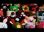 rabbit hats by ZeNey