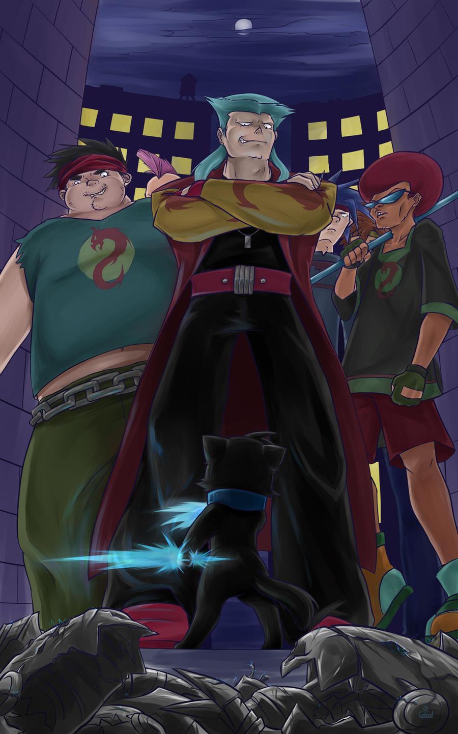 {Turf War} Purple Dragon & Ninja's {Done} Vs__the_purple_dragon_gang_by_colend-d4lios1