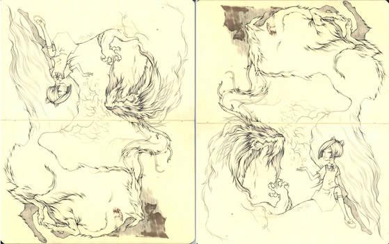 Moleskin Dragons