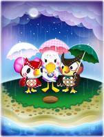 Animal Crossing: Rainy Day by rincharmie