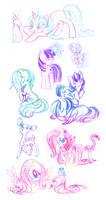 Ponies and Rainbows