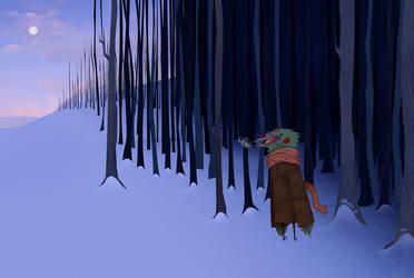 Cold Forest by rincharmie