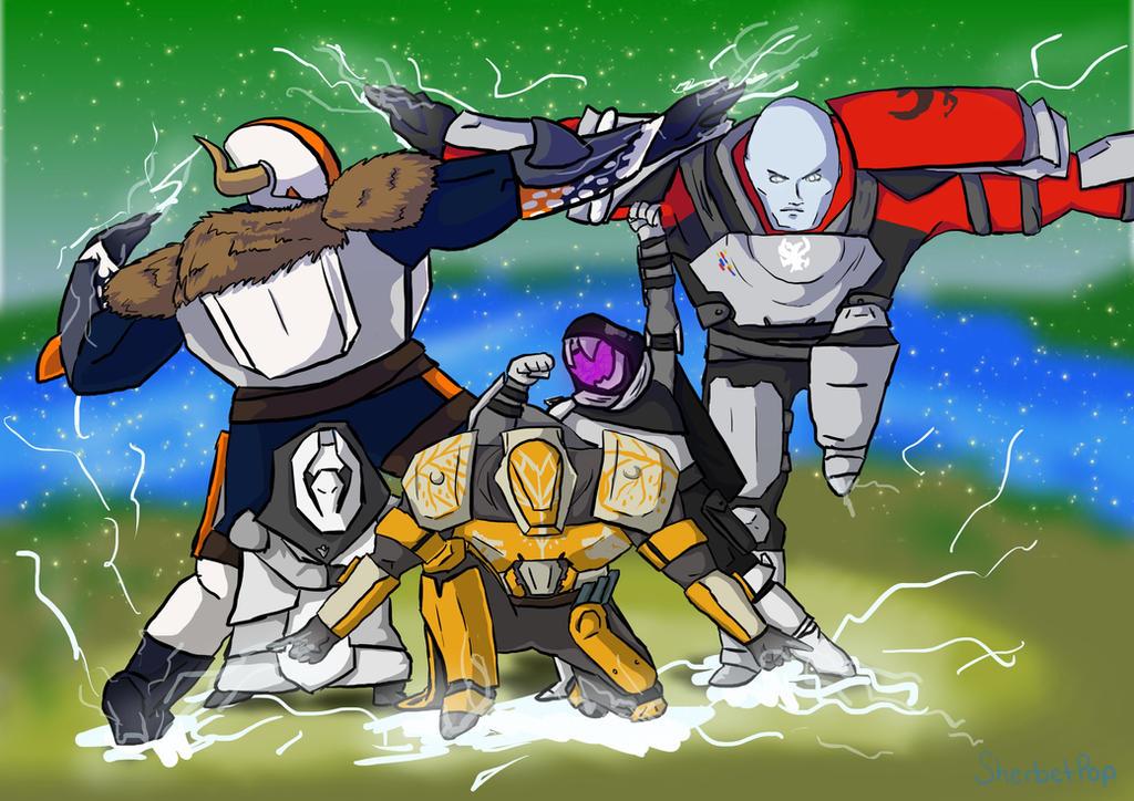 Striker Titan Force! by SherbetPop