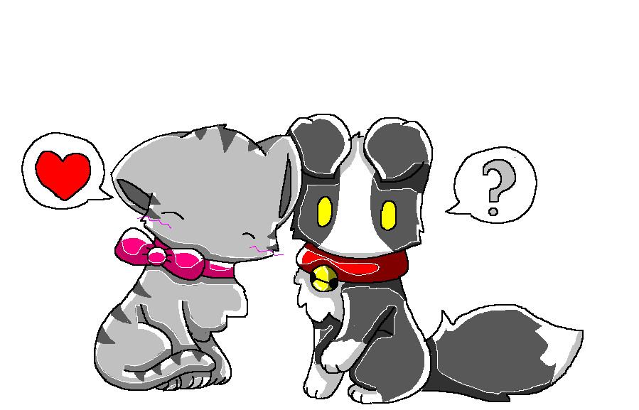 Popular Love Anime Adorable Dog - cat_and_dog_love_by_coolumbreon  Graphic_481381  .jpg