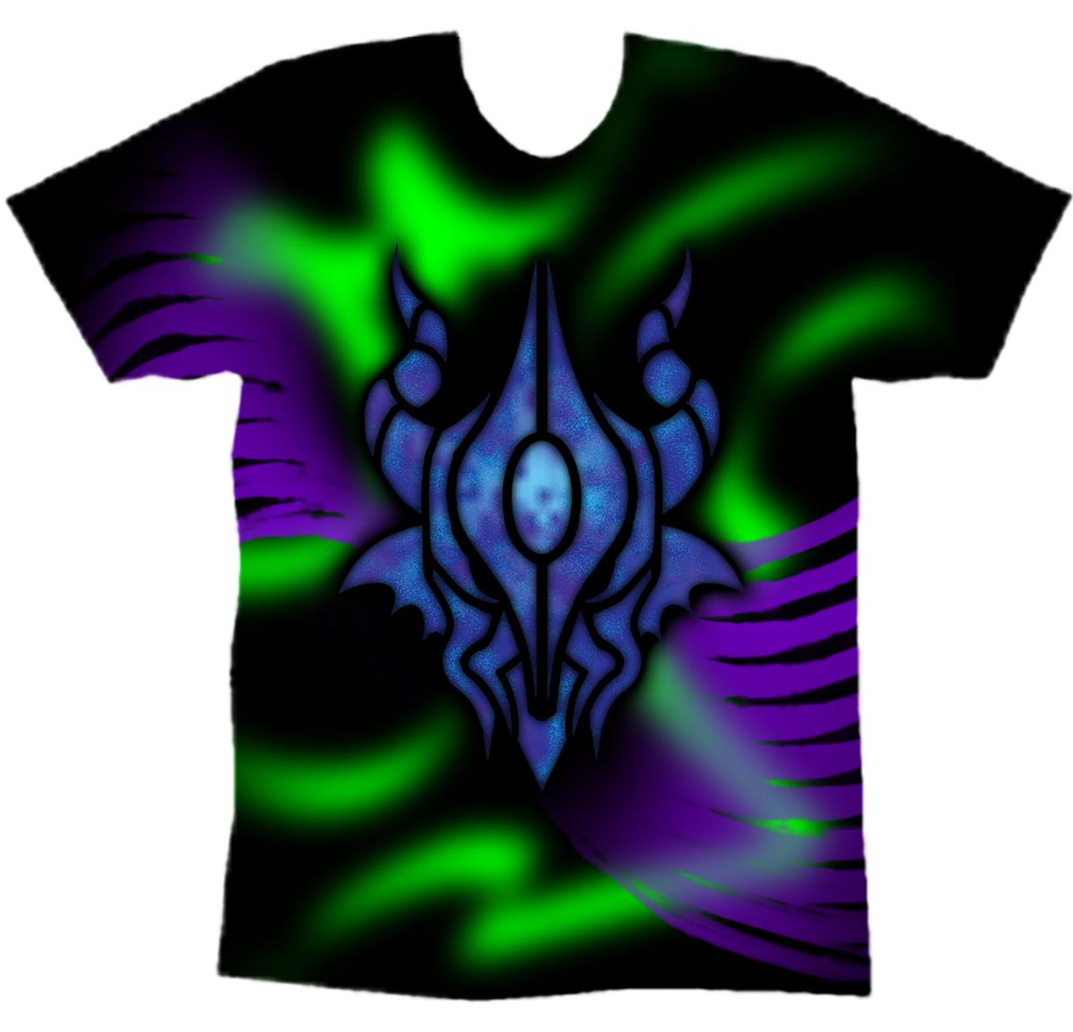 Dragon logo t shirt design by chameleon veil on deviantart for T shirt with own logo