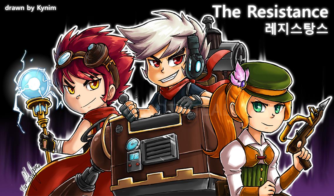 Resistance - The Trio by kynim