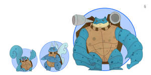 Squirtle line