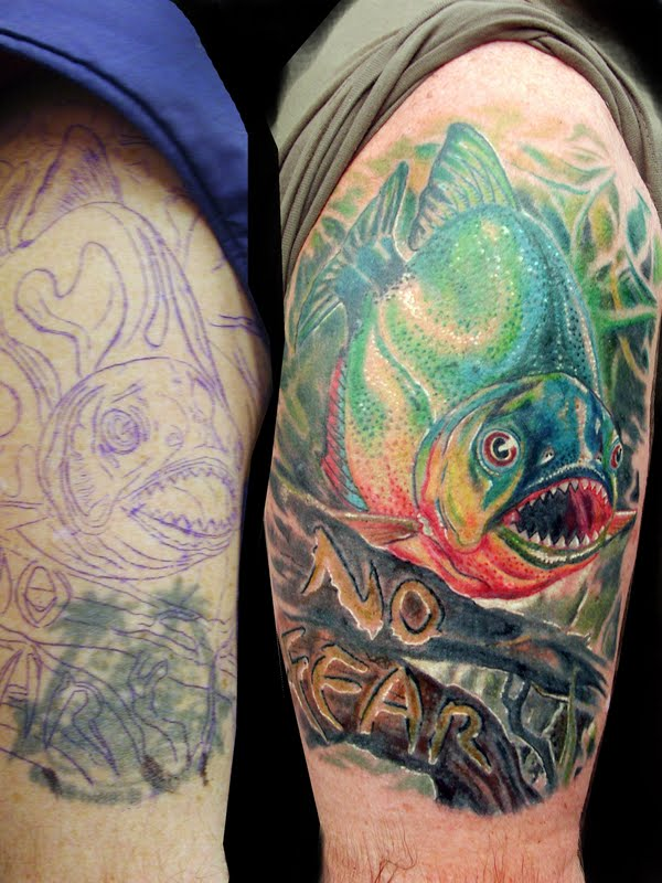 piranha by tattooneos