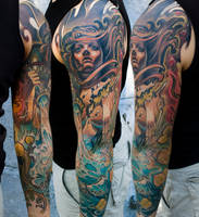 elements sleeve arm by tattooneos