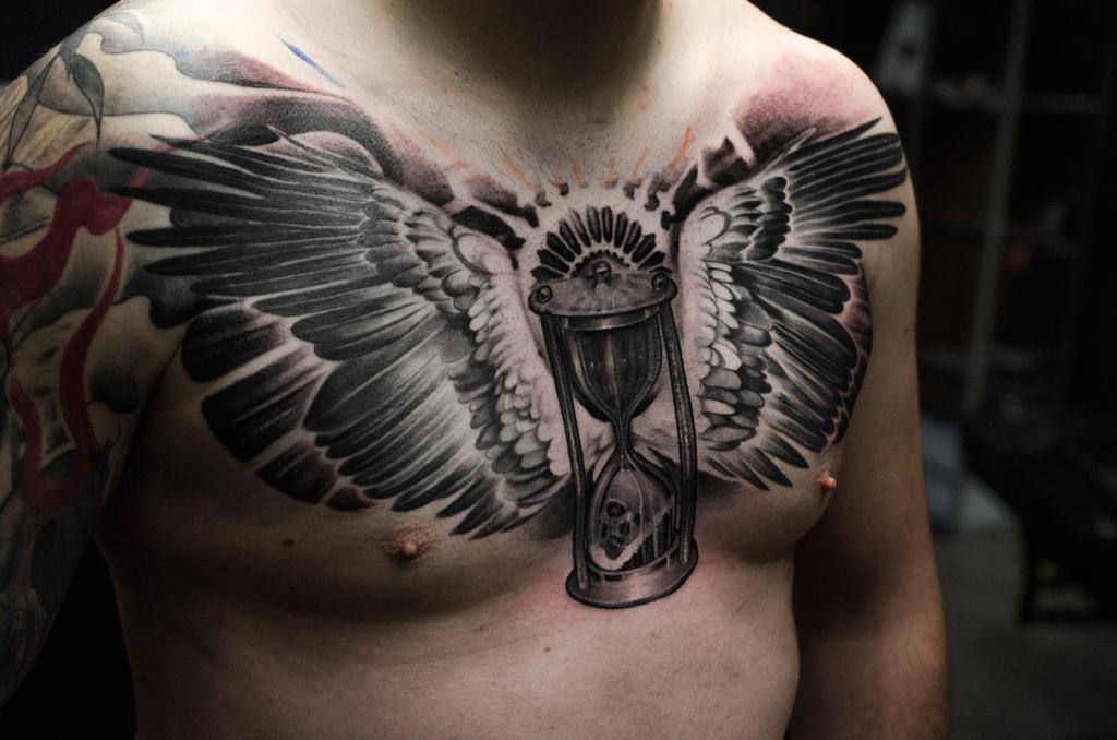 Time Waits For No One Hourglass Tattoo 25226 Applestory