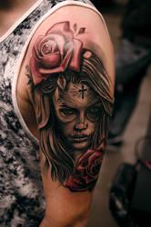 healed catrina by tattooneos