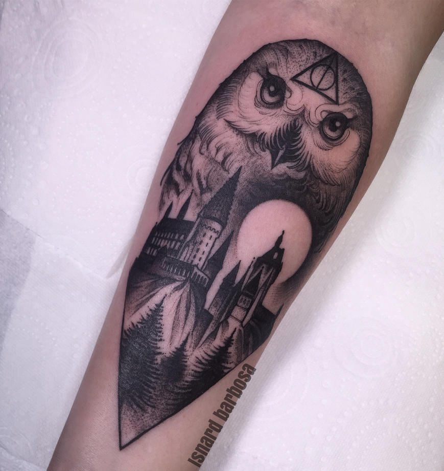 Harry potter by tattooneos