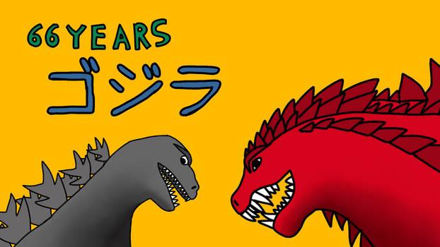 66 years of Godzilla...
