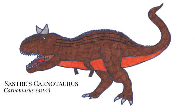 Sastre's Carnotaurus