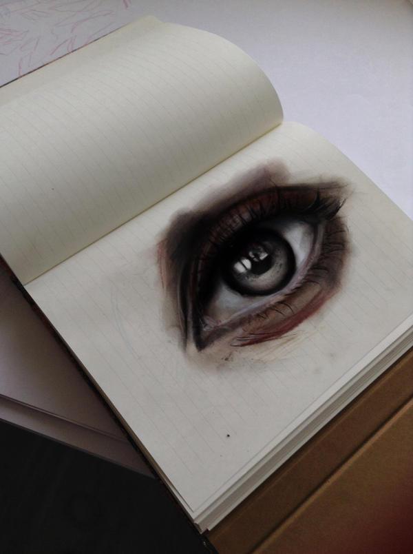 Eye Sketch by Drakhonheart