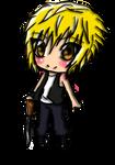 Chibi Shotgun guy by MasterNinja92