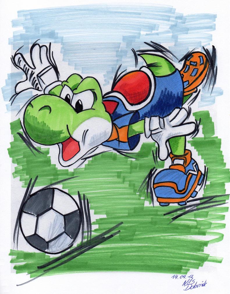 Yoshi - Soccer by AnyaHikari