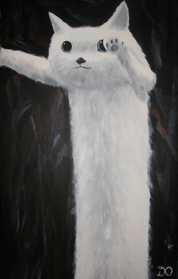 Long Cat by Dillonian