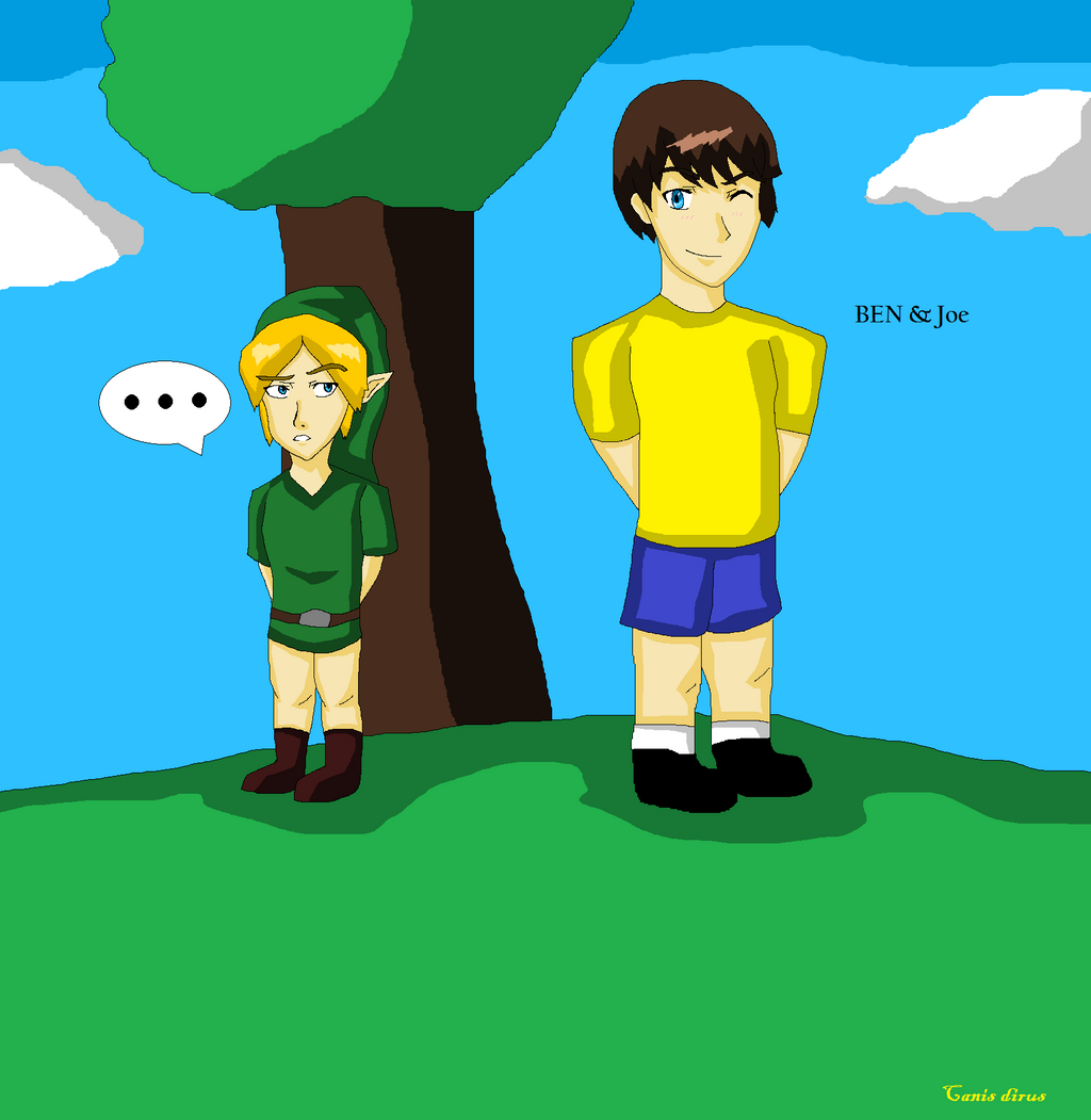 ben and joe based off of a rp by 75 canis dirus 75 on deviantart
