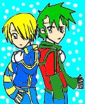 sanji and zoro by hanny-banny