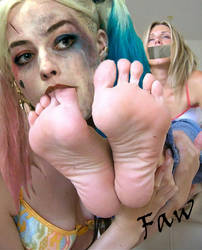 Walter recommend best of harley fetish quinn hentai foot