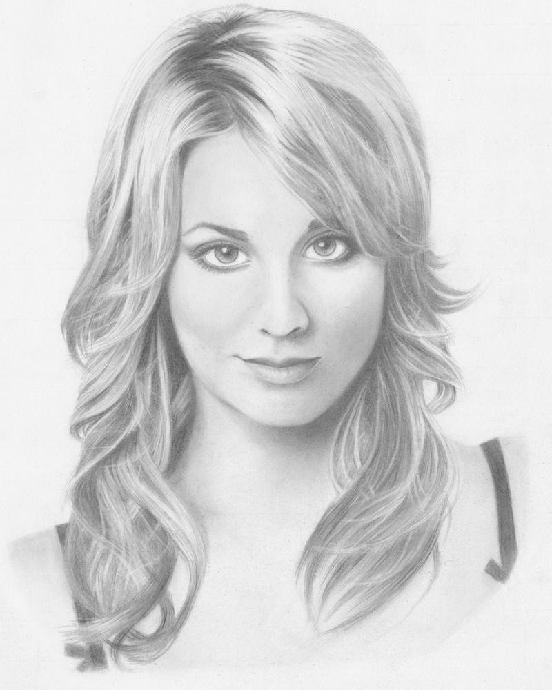 Kaley Christine Cuoco by omarjosef