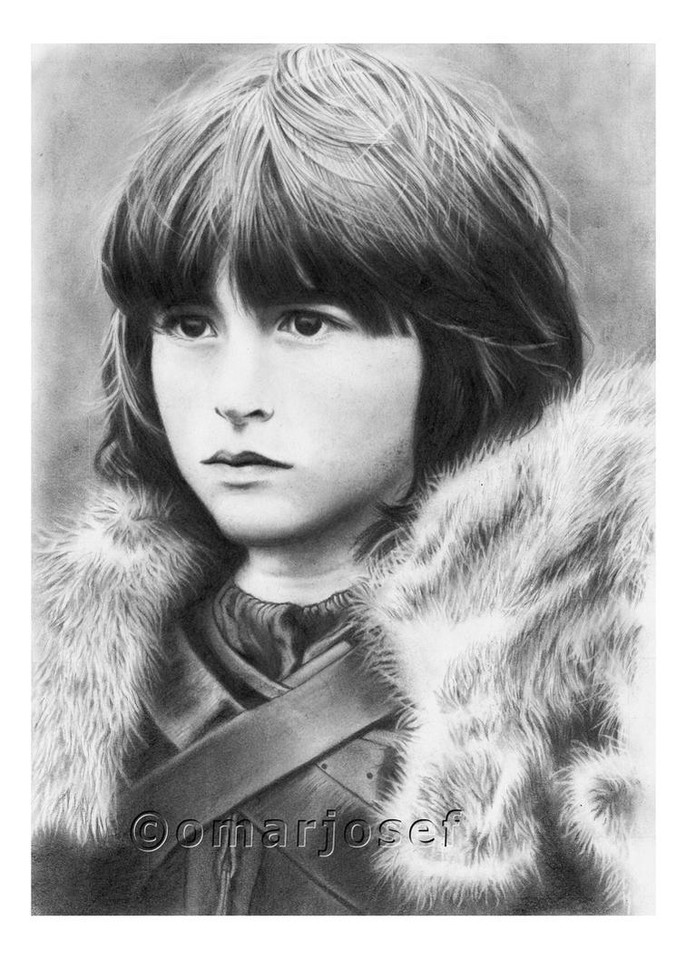Bran Stark by omarjosef