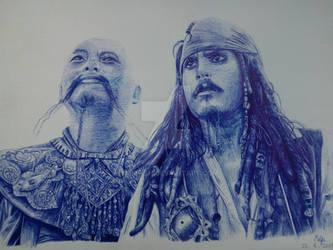 Captain Jack Sparrow by ymmfish