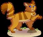 [Warrior Cats-tober] Honeyfern by mechafeline