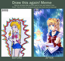 before and after meme by Valeyla
