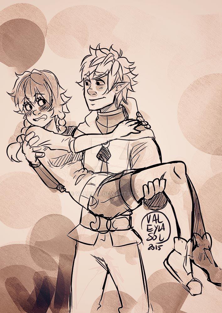 little Sketch by Valeyla