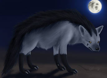 'Real' Mightyena by Sklavenbrause
