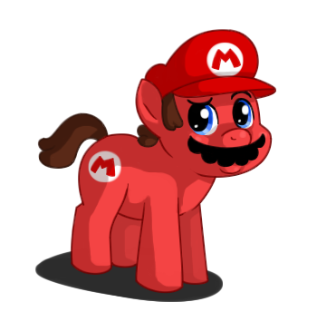 Well Howdy :D - Page 2 It__s_a_me_mario_____by_sklavenbrause-d3iqkxo