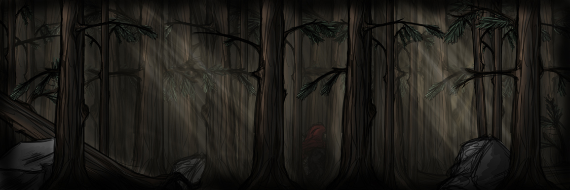 Through the Woods by aternox