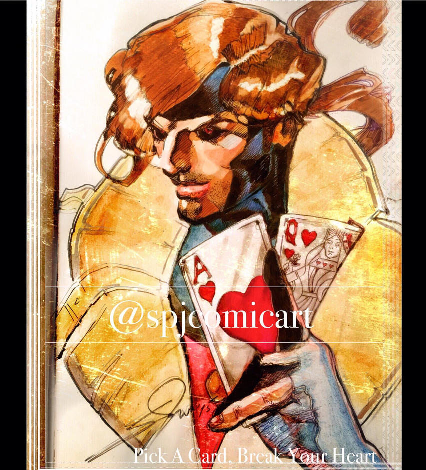 Gambit by SPJComicArt