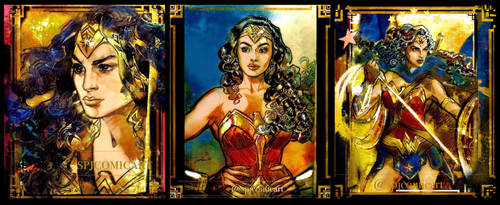 Wonder Woman Sacred Duty Tryptic  by SPJComicArt