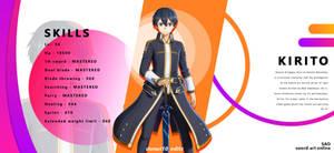 Kirito ( sword art online )
