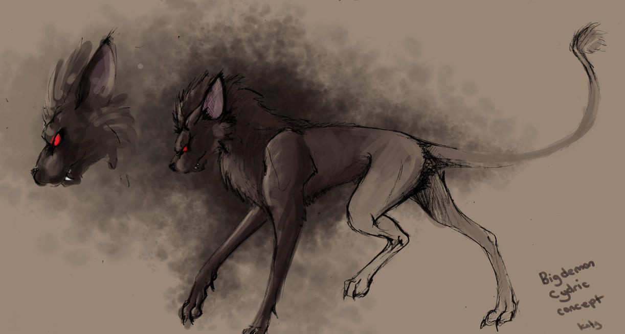 Big demon Cydric concept by kovah