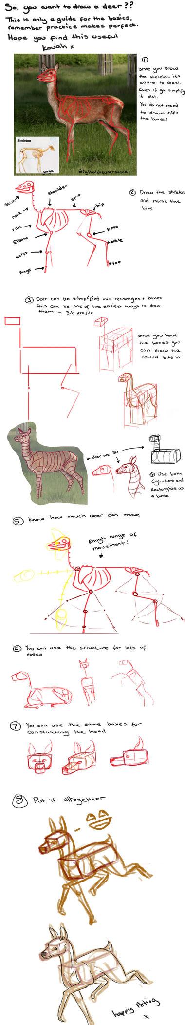 Basic Deer Tutorial by kovah