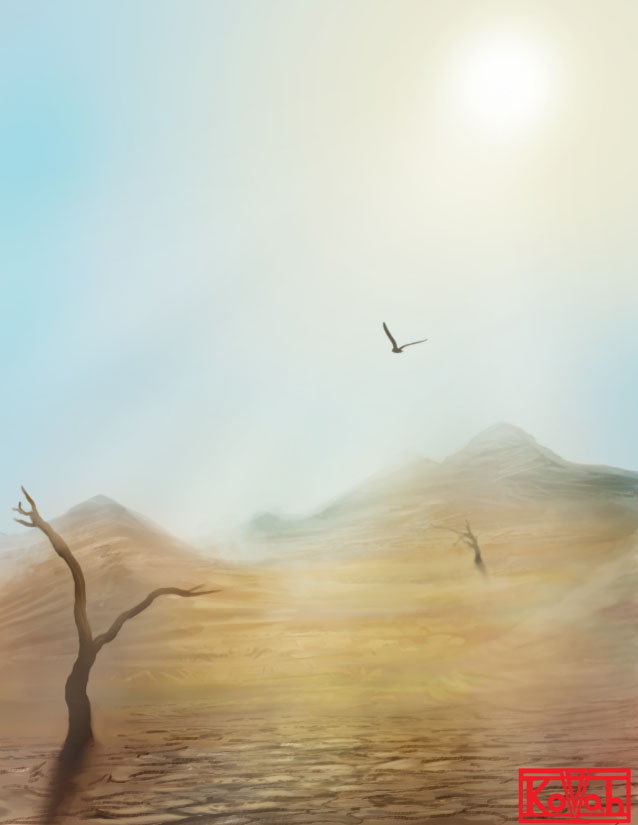 Desert by kovah